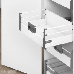 TANDEMBOX plus vidinis D stalčiaus komplektas 450mm, baltas