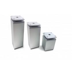 Kojelė aliumininė reguliuojama kvadratinė 40x40 H-150mm NP