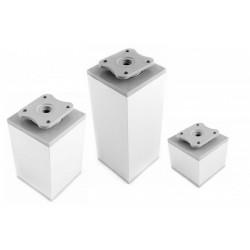 Kojelė aliumininė reguliuojama kvadratinė 60x60 H-60mm MC