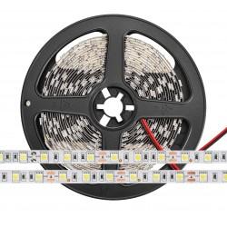 LED juosta 12V/9,6W WW (šalta balta) 5 metrai